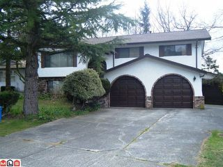 Photo 1: 2464 SUNNYSIDE Place in Abbotsford: Abbotsford West House for sale : MLS®# F1109885