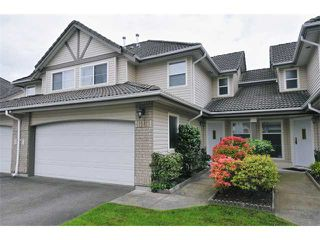 Photo 1: 15 758 RIVERSIDE Drive in Port Coquitlam: Riverwood Townhouse for sale : MLS®# V887026