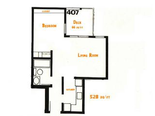 """Photo 4: 407 2920 ASH Street in Vancouver: Fairview VW Condo for sale in """"ASHCOURT"""" (Vancouver West)  : MLS®# V925080"""