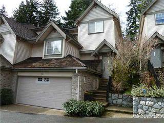 Photo 1: 5 3300 PLATEAU Boulevard in Coquitlam: Westwood Plateau Condo for sale : MLS®# V937878