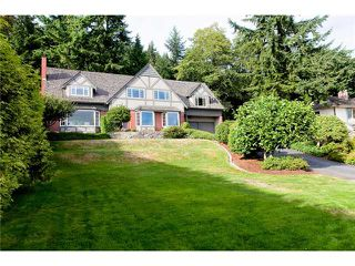 Photo 1: 1111 Crestline Road in West Vancouver: British Properties House for sale : MLS®# V911387