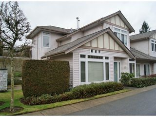 "Photo 1: 47 16325 82ND Avenue in Surrey: Fleetwood Tynehead Townhouse for sale in ""Hampton Woods"" : MLS®# F1400498"