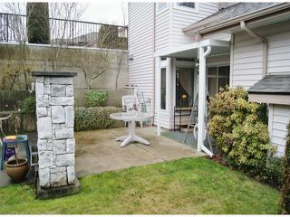 "Photo 12: 47 16325 82ND Avenue in Surrey: Fleetwood Tynehead Townhouse for sale in ""Hampton Woods"" : MLS®# F1400498"