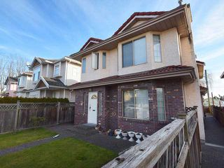 Photo 1: 8492 CARTIER ST in Vancouver: Marpole House 1/2 Duplex for sale (Vancouver West)  : MLS®# V1049017