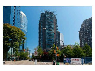 """Main Photo: 1008 1068 HORNBY Street in Vancouver: Downtown VW Condo for sale in """"The Canadian"""" (Vancouver West)  : MLS®# V1085594"""