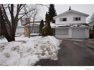 Photo 1: 130 Irving Place in WINNIPEG: East Kildonan Residential for sale (North East Winnipeg)  : MLS®# 1605132