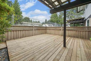 """Photo 18: 17 3046 COAST MERIDIAN Road in Port Coquitlam: Birchland Manor Townhouse for sale in """"WOODSIDE ESTATE"""" : MLS®# R2385328"""