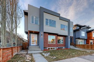 Main Photo: 1429 2 Street NW in Calgary: Crescent Heights Semi Detached for sale : MLS®# A1053257