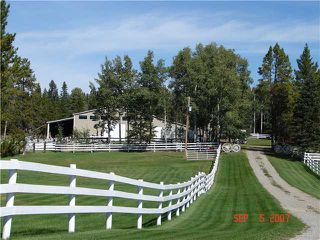 Photo 2: 25 MIN NW OF COCHRANE in COCHRANE: Rural Rocky View MD Residential Detached Single Family for sale : MLS®# C3474326