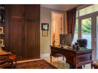 Photo 11: 1325 CAMRIDGE RD in West Vancouver: Chartwell House for sale : MLS®# V1039666