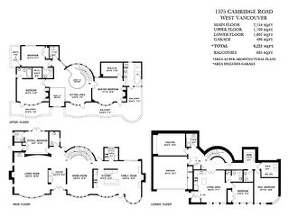Photo 20: 1325 CAMRIDGE RD in West Vancouver: Chartwell House for sale : MLS®# V1039666