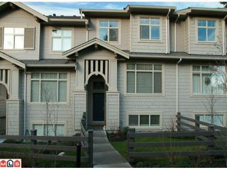 """Photo 1: 23 10605  DELSOM CR in Delta: Nordel Townhouse for sale in """"CARDINAL POINTE"""" (N. Delta)  : MLS®# F1029519"""