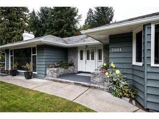 Main Photo: 3404 EDGEMONT Boulevard in North Vancouver: Edgemont House for sale : MLS®# V1089330