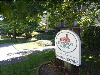 "Photo 1: 111 8400 LANSDOWNE Road in Richmond: Brighouse Condo for sale in ""LEXINGTON SQUARE"" : MLS®# V1135633"