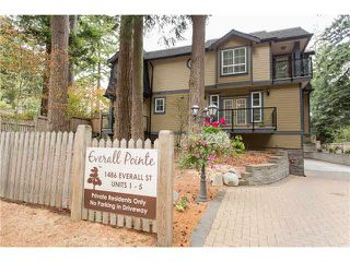 "Photo 18: 1 1486 EVERALL Street: White Rock Townhouse for sale in ""EVERALL POINTE"" (South Surrey White Rock)  : MLS®# F1450870"