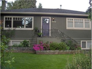 Photo 1: 3498 NORWOOD Ave in North Vancouver: Upper Lonsdale Home for sale ()  : MLS®# V1067777