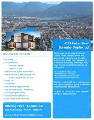 Photo 1: 4289 PARKER Street in Burnaby: Willingdon Heights House for sale (Burnaby North)  : MLS®# R2129579