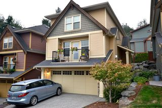 """Photo 1: 14 36169 LOWER SUMAS MTN Road in Abbotsford: Abbotsford East Townhouse for sale in """"Junction Creek"""" : MLS®# R2202581"""