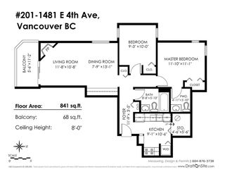 """Photo 20: 201 1481 E 4TH Avenue in Vancouver: Grandview VE Condo for sale in """"COMMERCIAL DRIVE"""" (Vancouver East)  : MLS®# R2224730"""