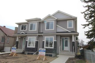 Main Photo: 11528 101 Street in Edmonton: Zone 08 House Half Duplex for sale : MLS®# E4125768