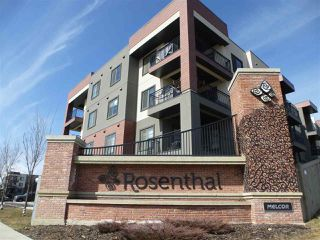 Photo 1: 415 1004 ROSENTHAL Boulevard NW in Edmonton: Zone 58 Condo for sale : MLS®# E4150286