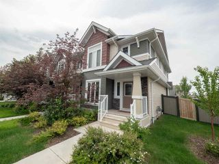 Photo 1: 704 176 Street in Edmonton: Zone 56 Attached Home for sale : MLS®# E4153336