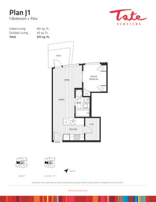Photo 6: 1009 1283 HOWE Street in Vancouver: Downtown VW Condo for sale (Vancouver West)  : MLS®# R2386941