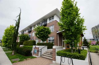 "Photo 1: 203 245 BROOKES Street in New Westminster: Queensborough Condo for sale in ""DUO"" : MLS®# R2454079"