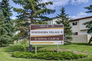 Photo 2: 74 32 WHITNEL Court NE in Calgary: Whitehorn Row/Townhouse for sale : MLS®# A1016839