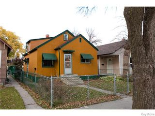 Photo 1: 443 Horace Street in WINNIPEG: St Boniface Residential for sale (South East Winnipeg)  : MLS®# 1528754