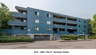 "Photo 1: 315 5906 176A Street in Surrey: Cloverdale BC Condo for sale in ""WYNDHAM ESTATE"" (Cloverdale)  : MLS®# R2194387"