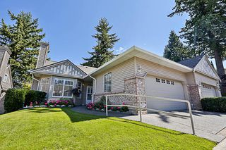 """Photo 1: 67 2533 152 Street in Surrey: Sunnyside Park Surrey Townhouse for sale in """"Bishops Green"""" (South Surrey White Rock)  : MLS®# R2201246"""