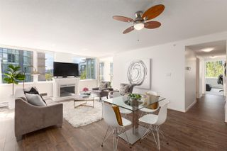 """Main Photo: 501 1288 MARINASIDE Crescent in Vancouver: Yaletown Condo for sale in """"Crestmark"""" (Vancouver West)  : MLS®# R2386592"""