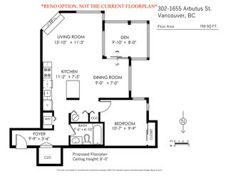 Photo 17: 302 1665 ARBUTUS Street in Vancouver: Kitsilano Condo for sale (Vancouver West)  : MLS®# R2404532