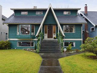 Photo 1: 361 W 21ST AV in Vancouver: Cambie House for sale (Vancouver West)  : MLS®# V991313