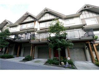 """Photo 1: 10 55 HAWTHORN Drive in Port Moody: Heritage Woods PM Townhouse for sale in """"COBALT SKY"""" : MLS®# V1034207"""