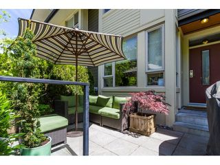 Photo 2: 56 9229 UNIVERSITY Crescent in Burnaby: Simon Fraser Univer. Townhouse for sale (Burnaby North)  : MLS®# R2067028