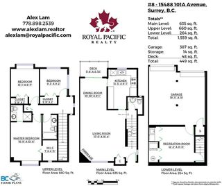 """Photo 20: 8 15488 101A Avenue in Surrey: Guildford Townhouse for sale in """"COBBLEFIELD LANE"""" (North Surrey)  : MLS®# R2094688"""