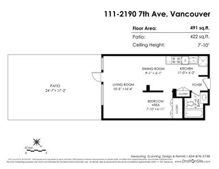 "Photo 20: 111 2190 W 7TH Avenue in Vancouver: Kitsilano Condo for sale in ""SUNSET WEST"" (Vancouver West)  : MLS®# R2278471"