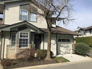 "Photo 1: 22 11580 BURNETT Street in Maple Ridge: East Central Townhouse for sale in ""Cedar Estates"" : MLS®# R2353797"