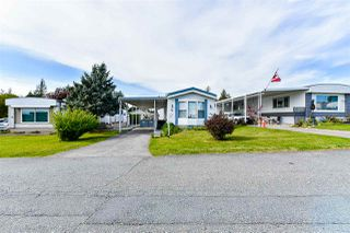 "Photo 1: 21 2035 MARTENS Street in Abbotsford: Poplar Manufactured Home for sale in ""Maplewood estates"" : MLS®# R2368618"