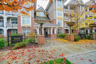 "Main Photo: 306 17712 57A Avenue in Surrey: Cloverdale BC Condo for sale in ""WEST ON THE VILLAGE WALK"" (Cloverdale)  : MLS®# R2420704"