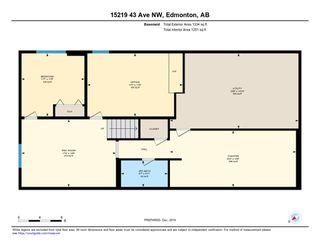 Photo 50: 15219 43 Avenue in Edmonton: Zone 14 House for sale : MLS®# E4181745