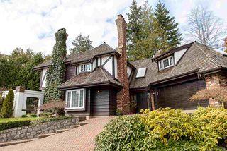 Photo 1: 4850 CAULFEILD Court in West Vancouver: Upper Caulfeild House for sale : MLS®# R2502034