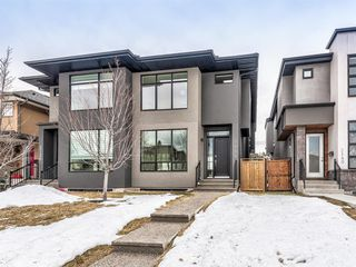 Main Photo: 3138 44 Street SW in Calgary: Glenbrook Semi Detached for sale : MLS®# A1063052