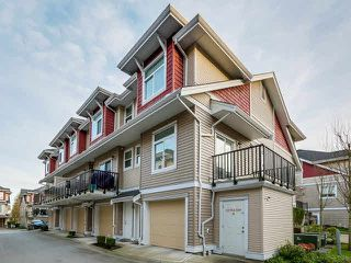 "Main Photo: 28 8655 159TH Street in Surrey: Fleetwood Tynehead Townhouse for sale in ""SPRINGFIELD COURT"" : MLS®# F1432181"
