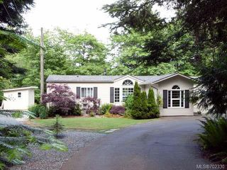Photo 1: 116 BAYNES DRIVE in FANNY BAY: CV Union Bay/Fanny Bay Manufactured Home for sale (Comox Valley)  : MLS®# 702330