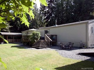 Photo 22: 116 BAYNES DRIVE in FANNY BAY: CV Union Bay/Fanny Bay Manufactured Home for sale (Comox Valley)  : MLS®# 702330