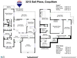 Photo 20: 3213 SAIL Place in Coquitlam: Ranch Park House for sale : MLS®# R2000366