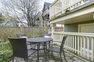 Photo 18: 2315 BALSAM Street in Vancouver: Kitsilano Townhouse for sale (Vancouver West)  : MLS®# R2255834